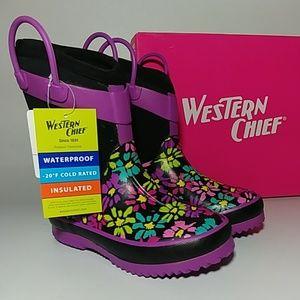 💜💚Girls Rain Boots NEW💜💚